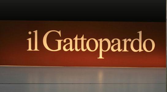 Leuchtschrift Restaurant il Gattopardo