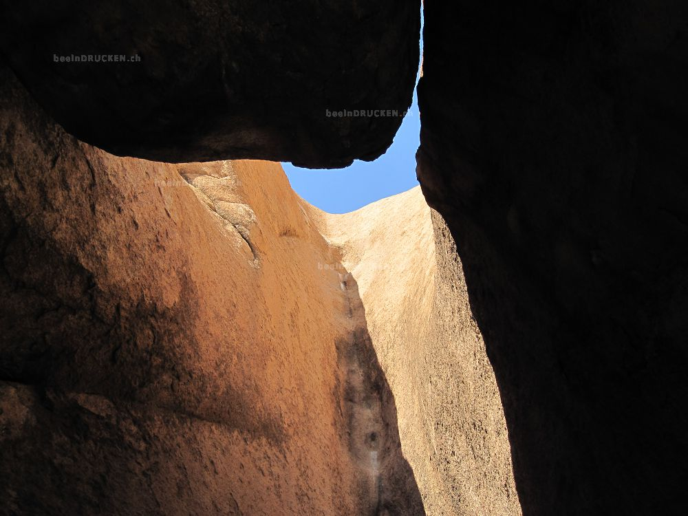 Felsen Höhle