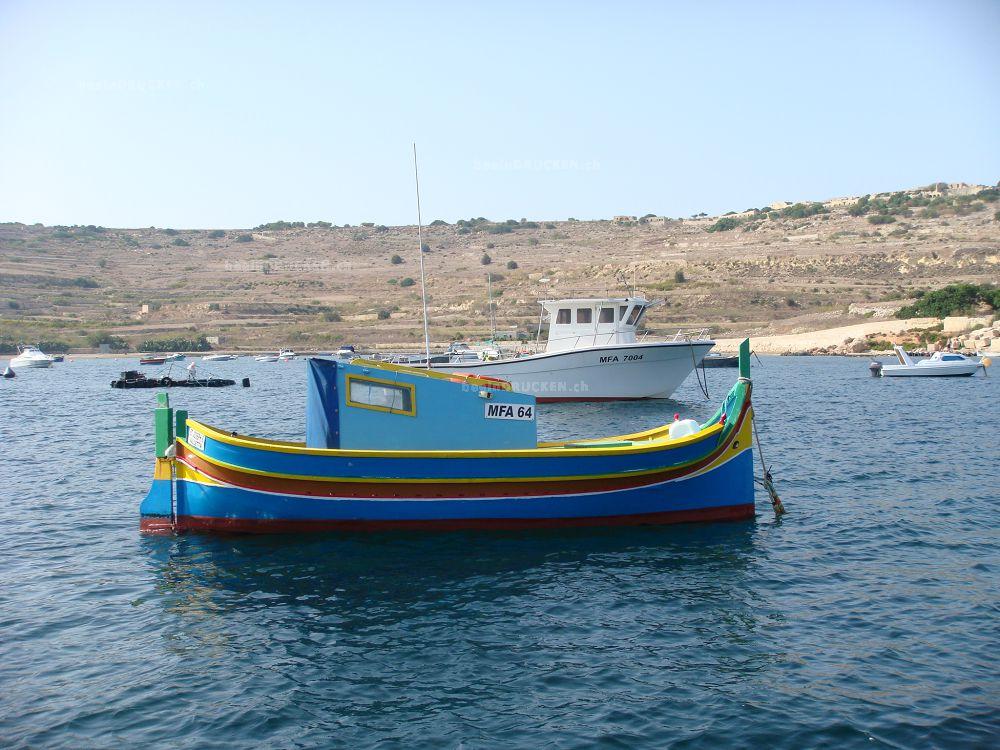Fischerboot Malta
