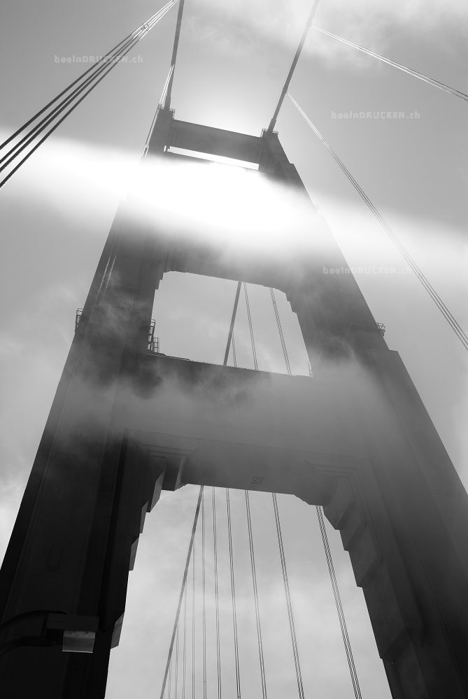 Golden Gate Black and White