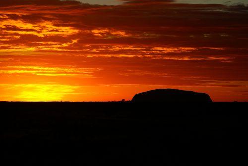 Sonnenaufgang Ayers Rock