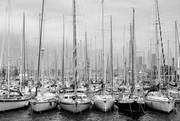 Hafen von Barcelona
