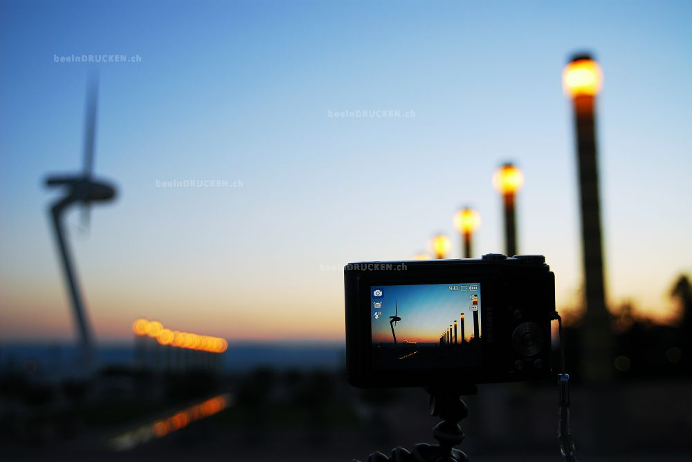 Blick durch die Kamera