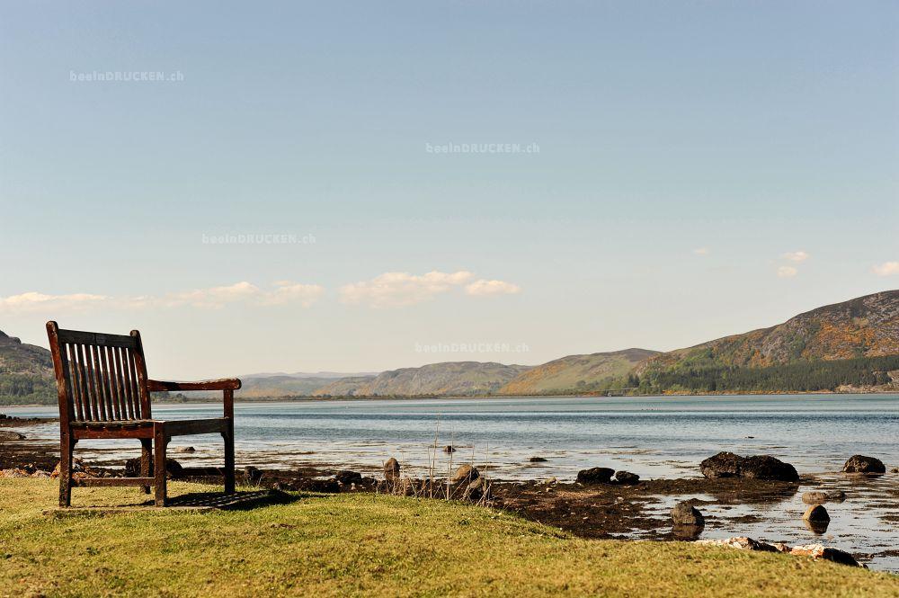 Einsam am See