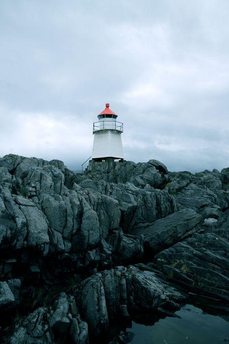 Leuchtturm Nord-Norwegen