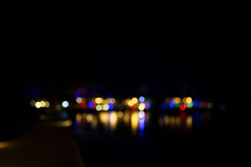 Lichterspiegelung