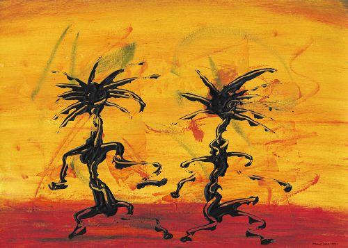 Tanzkunst Tanzpaar X