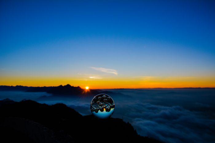 Sonnenuntergang Rigi
