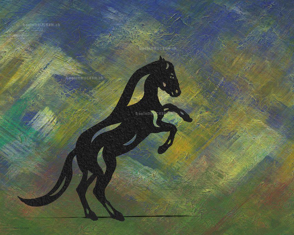 Emma II - Abstraktes Pferd