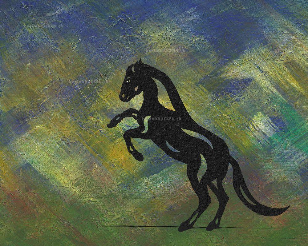 Emma - Abstraktes Pferd