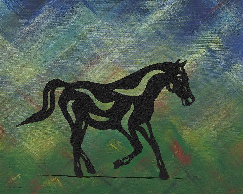 Heinrich - Abstraktes Pferd