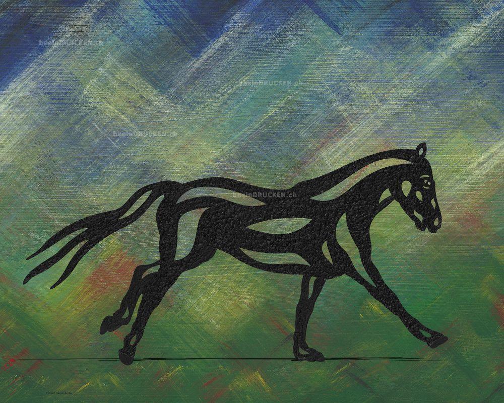 Clementine - Abstraktes Pferd