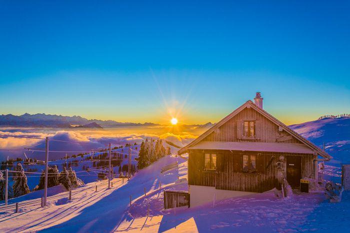Winterwunderland Rigi
