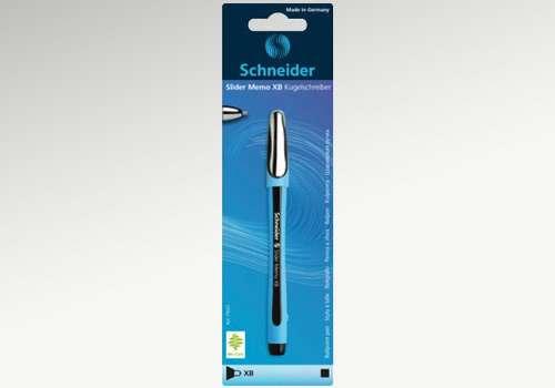 SCHNEIDER Kugelschreiber Memo schwarz