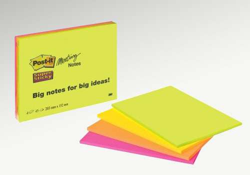 POST-IT Haftnotizen Meeting Notes